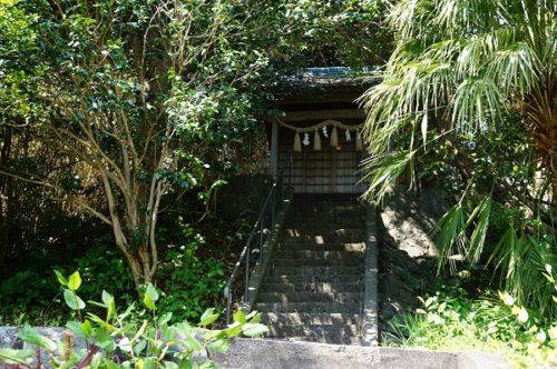 伊東市富戸宇根展望台 神社